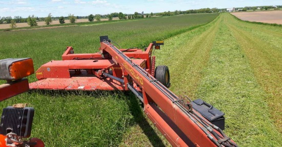 Cutting hay June 2017